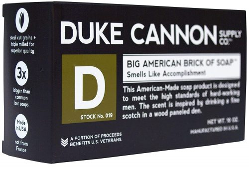 Duke Cannon men's big American brick of soap: Best Soap For Men
