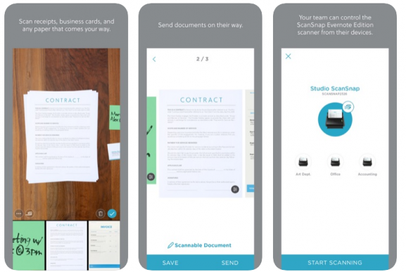 Evernote Scannable Best Scanner Apps For Documents