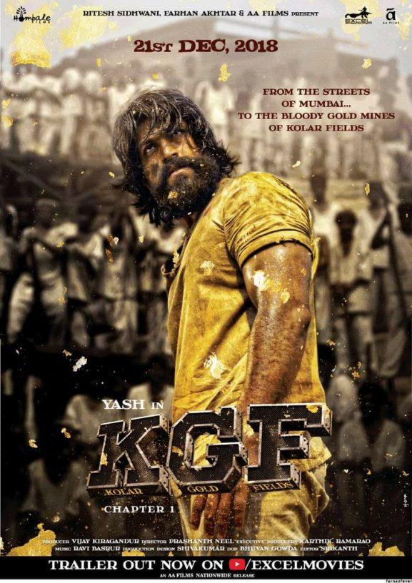 Kgfchapter 1: Best South Indian Movie