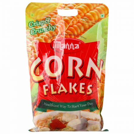 Manna Corn Flakes Plus Best Corn Flakes Brand In India