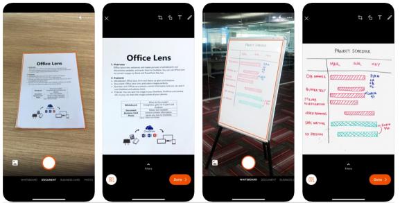 Microsoft Office Lens Best Scanner Apps For Documents
