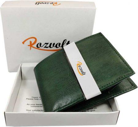 Rozvolt green wallet: Best Wallet