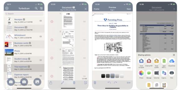 TurboScan Best Scanner Apps For Documents
