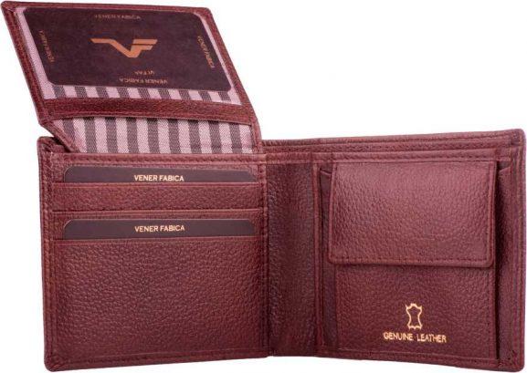 Vener Fabica casual brown wallet: Best Wallet