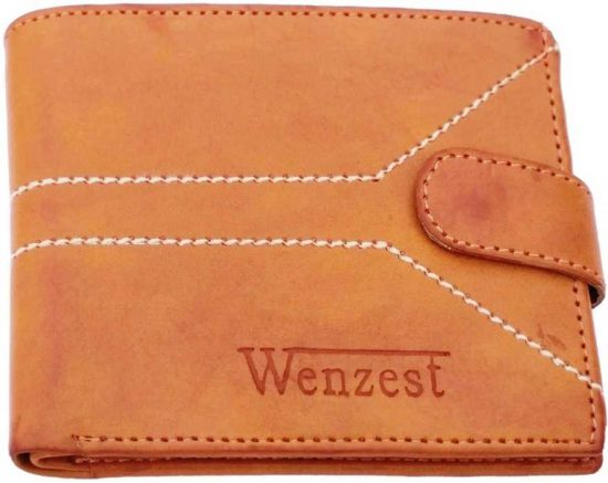 Wenzest genuine leather tan wallet: Best Wallet