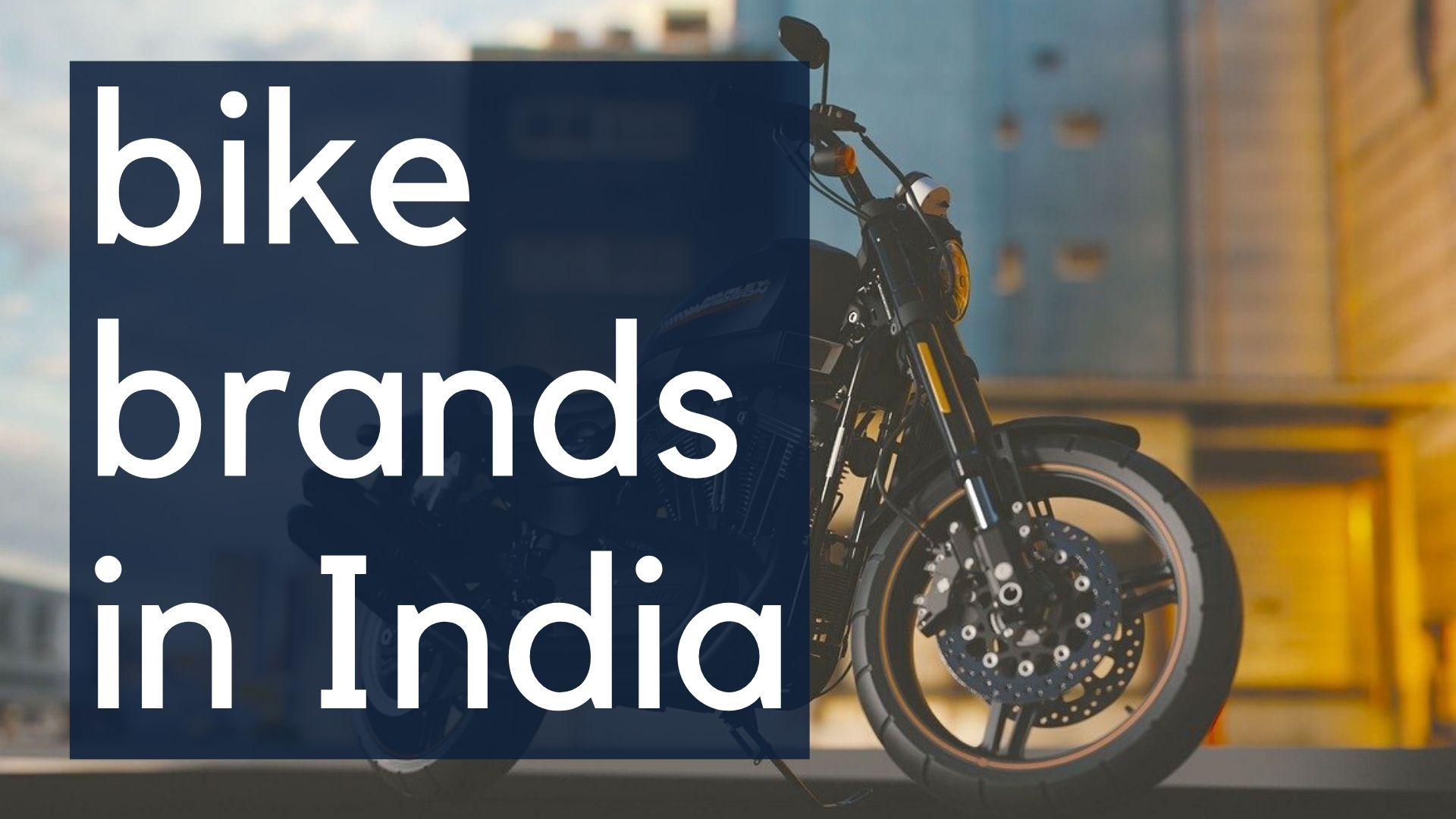 best bike brands in india