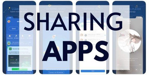 best sharing apps