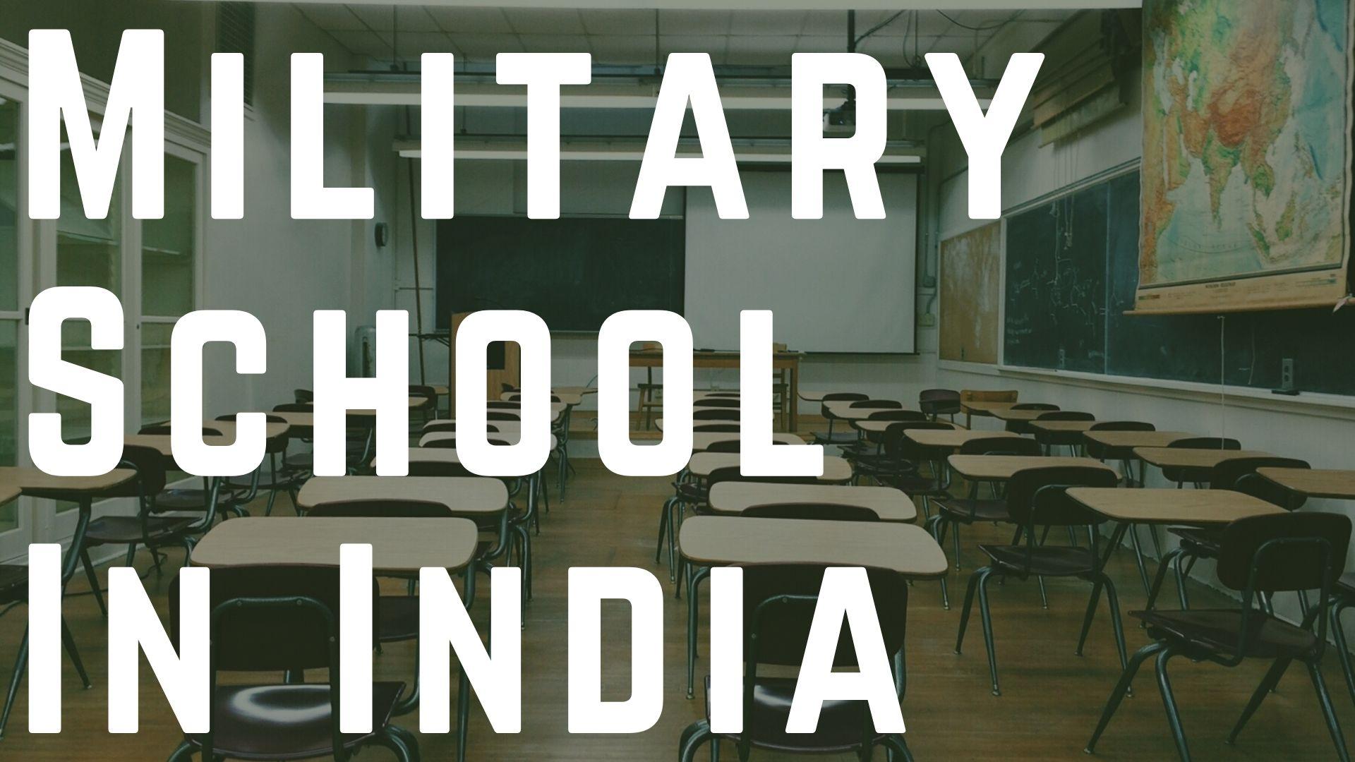 military schools In India