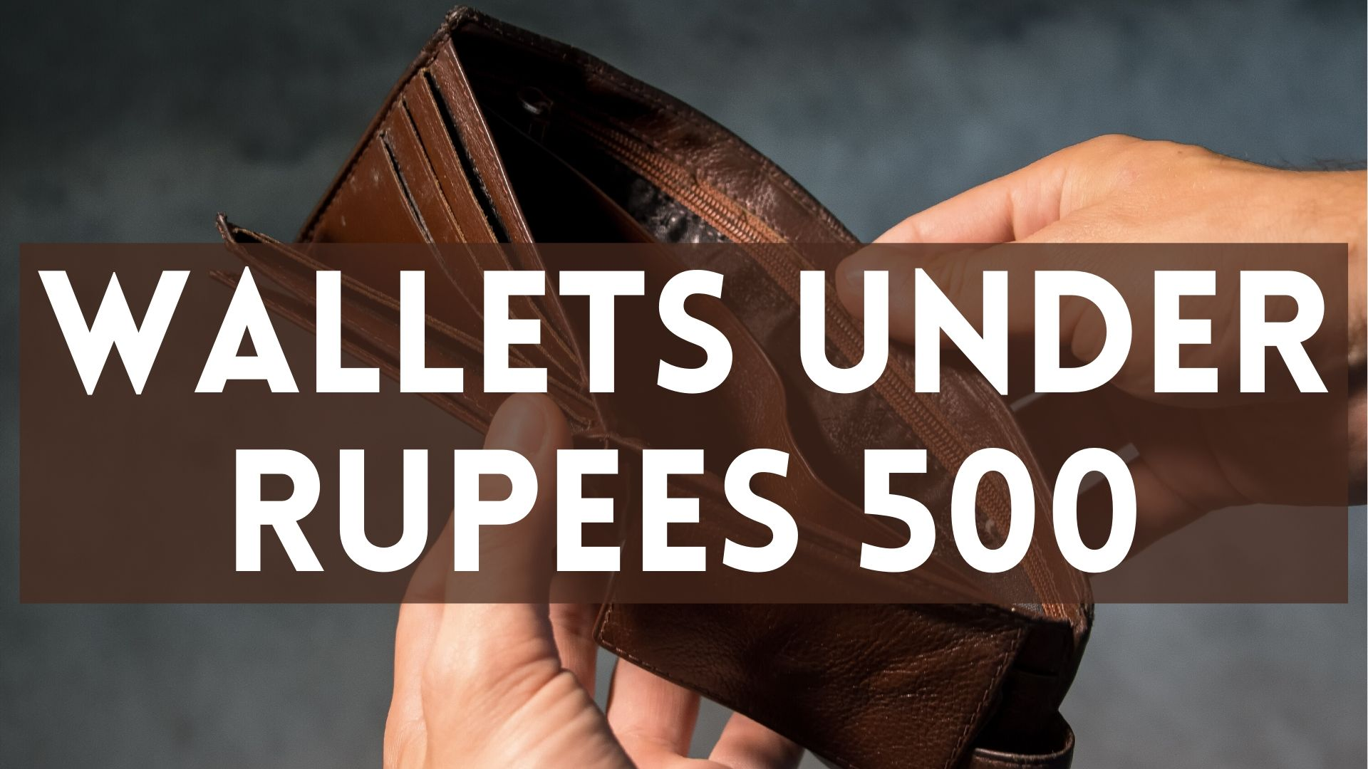 wallets under rupees 500