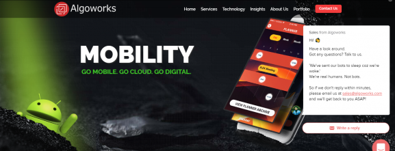 Algoworks. - App Development Company