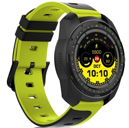 FitSpark Studio Full Touch, Multi-Functional Smartwatch with Bluetooth Calling in a Military Grade Metallic Body IP67 Water Resistant (Green): Best SmartWatch To Buy Under 5000