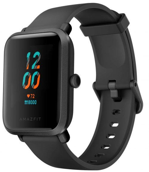 Huami Amazfit Bip S Smart Watch with Built -in GPS, Long Battery Life, Always-on Display, 5ATM Water Resistance (Carbon Black): Best SmartWatch To Buy Under 5000