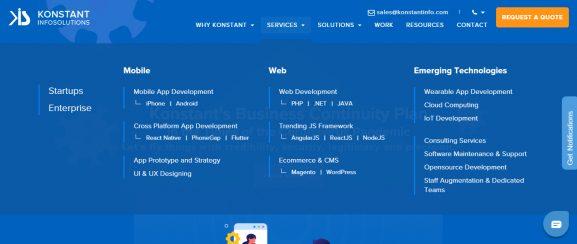 KONSTANT INFOSOLUTIONS - App Development Company