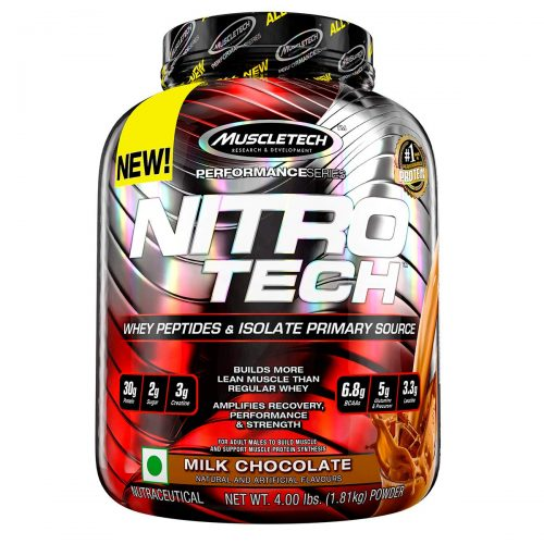 Muscletech Performance Series Nitrotech Whey Protein Peptides & Isolate: Best Protein
