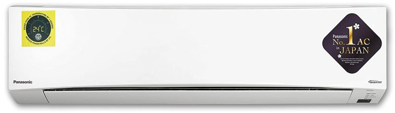 Panasonic 1.5 Ton 3 Star Wi-Fi Twin Cool Inverter Split AC (Copper CS/CU-SU18WKYW White): Best Air Conditioner To Buy Under 40,000