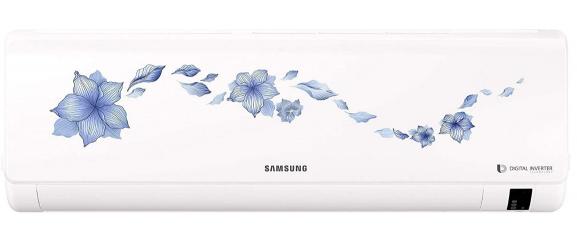 Samsung 1.5 Ton 5 Star Inverter Split AC (Alloy AR18NV5HLTRNNA Starflower)