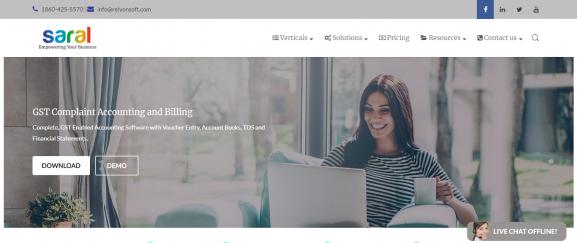 Saral Accounting Software: Accounting Software