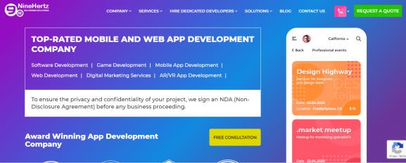 The NineHertz - App Development Company