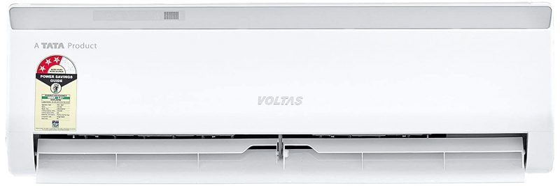 Voltas 1 Ton 3 Star Split AC (Copper 123 CZA White): Air Conditioner Under 30,000