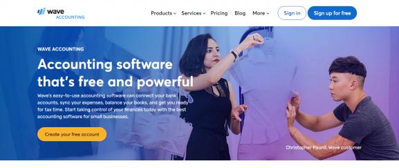 Wave Accounting: Accounting Software