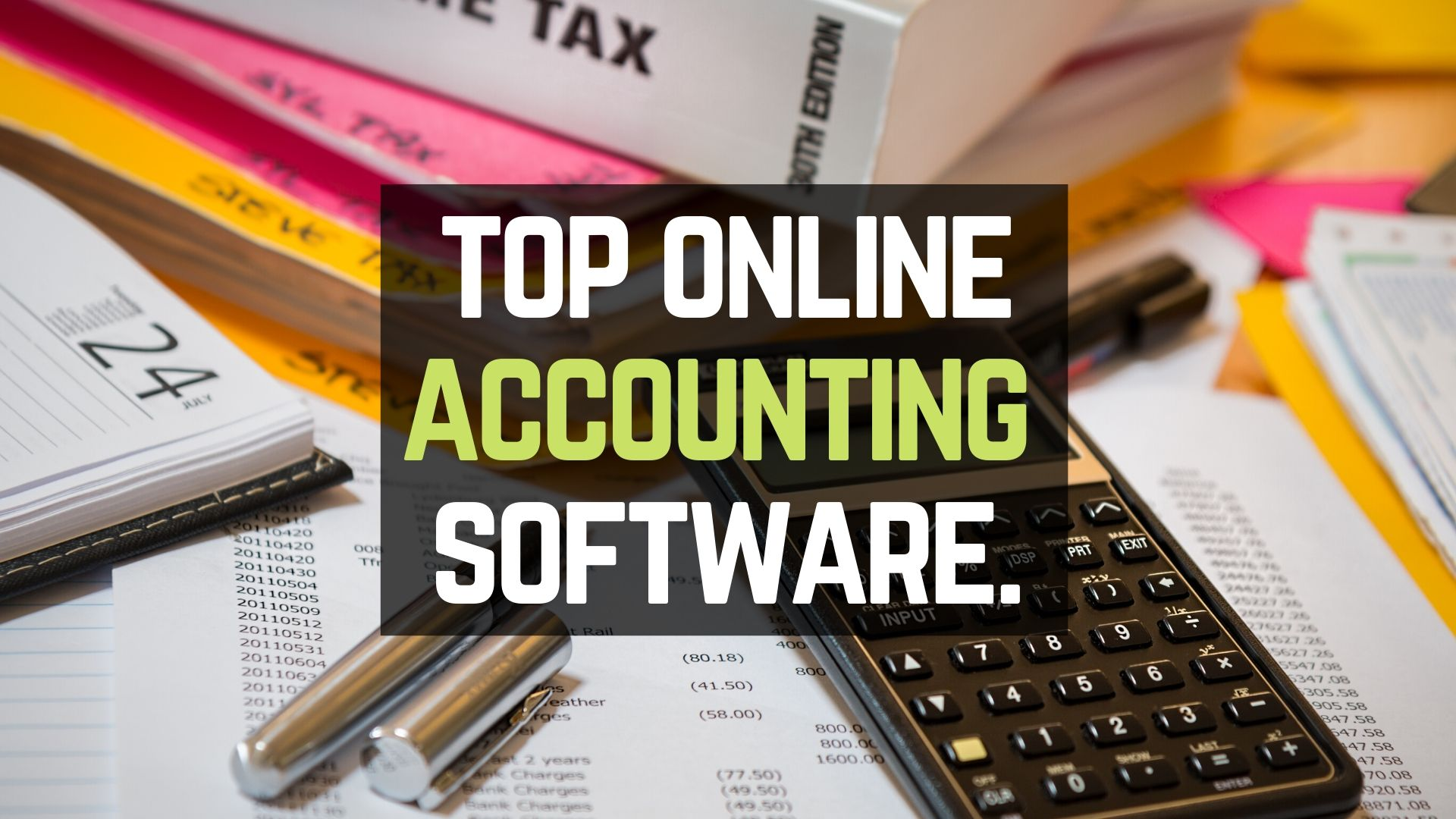 best accounting software available online