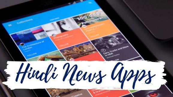 hindi news apps
