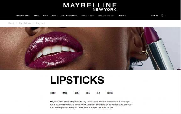 maybelline new york best lipsticks