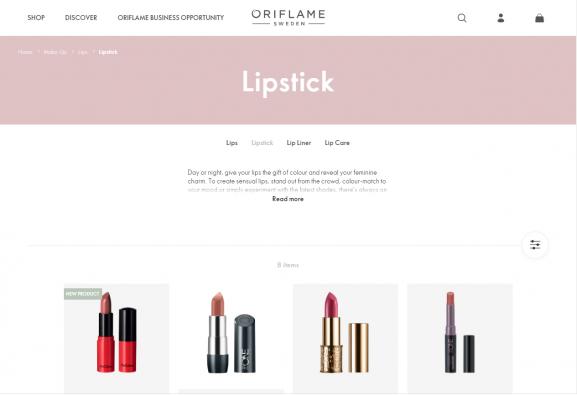 oriflame best lipsticks