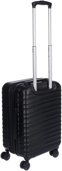 AmazonBasics Set of 2 (55 cm + 78 cm) Black Hardsided Trolley: Best Suitcases, Trolley Bags And Luggage To buy In India