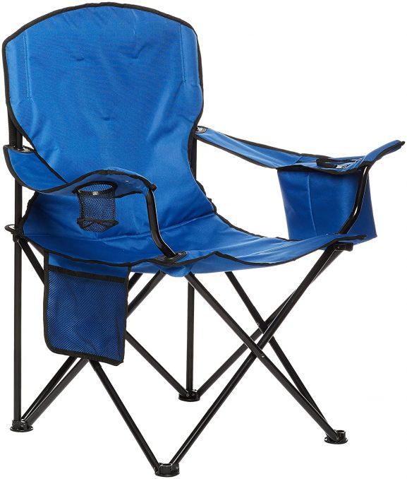 AmazonBasics foldable camping chair - best folding chair