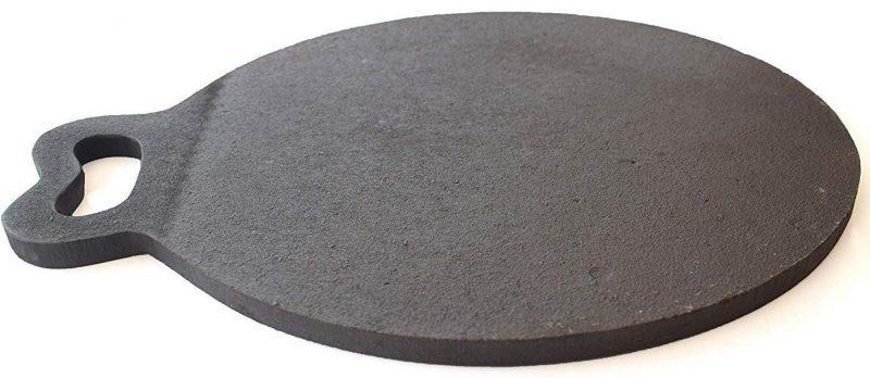 Qualy Investo 12 inch Pre-Seasoned Cast Iron dosa Tawa 30cm: Best Dosa Tawa
