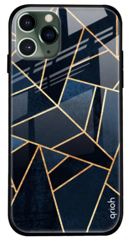 Abstract Tiles Glass Cover for Apple iPhone 11 Pro Max: Best iPhone 11 Pro Max Cover