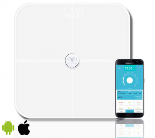 Actofit Body Fat Analyser Smart Scale: Best Weight Scale Machine In India