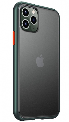 Bounceback iPhone 11 Pro Max Back Case (Shock Proof) - Matte Green: Best iPhone 11 Pro Max Cover