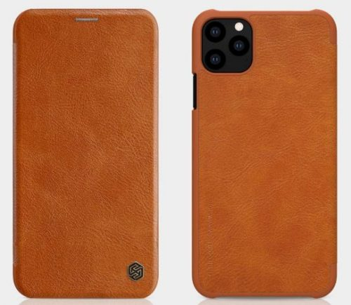 ERIT Cover Qin Leather Flip Case for iPhone 11 Pro/iPhone 11 Pro (6.1) (Brown): Best iPhone 11 Pro Cover
