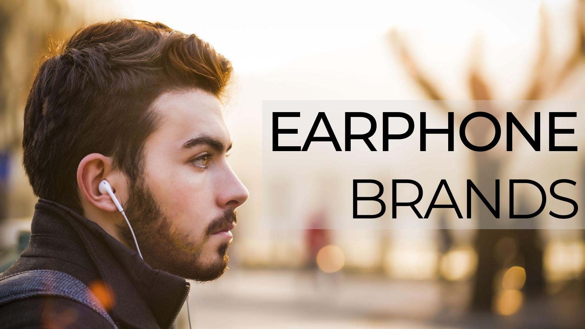 Earphone Brands in india