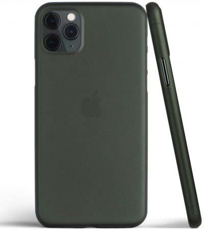 Egotude Ultra Slim Matte Anti Scratch thin Fit Back Cover for iPhone 11 Pro (Midnight Green): Best iPhone 11 Pro Cover
