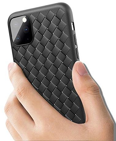 Go Crazzy Leather Black case for iPhone 11 Pro Max with shockproof bumper: Best iPhone 11 Pro Max Cover