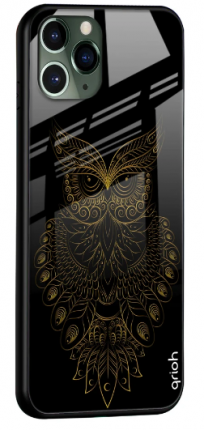 Golden Owl Glass Cover for Apple iPhone 11 Pro Max: Best iPhone 11 Pro Max Cover
