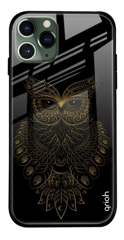 Golden Owl Glass Cover for Apple iPhone 11 Pro- Best iPhone 11 Pro Cover