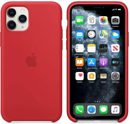 KARWAN Back Case for iPhone 11 Pro Max (Red, Shock Proof, Silicon): Best iPhone 11 Pro Max Cover