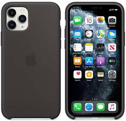 KARWAN Back Cover for iPhone 11 Pro (Black, Shock Proof, Silicon): Best iPhone 11 Pro Cover