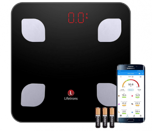 Lifetrons Smart Body Composition Digital Weighing Scale: Best Weight Scale Machine In India