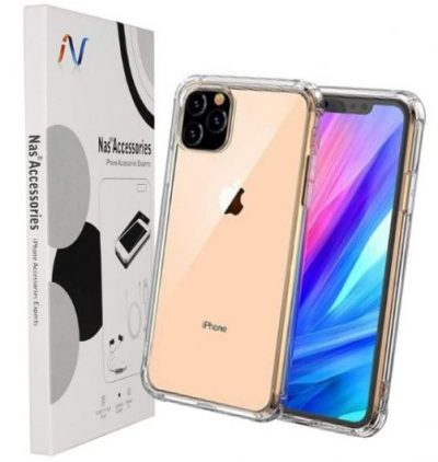NAS iPhone 11 PRO Case [Protective + Anti Shockproof Case], iPhone 11 Pro Back Cover- Transparent Case: Best iPhone 11 Pro Cover