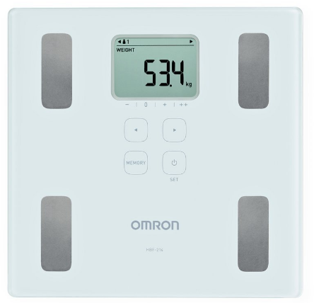 Omron HBF 214 Digital Full Body Composition Monitor: Best Weight Scale Machine In India