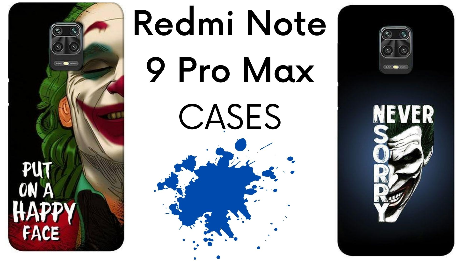 Redmi Note 9 Pro Max back covers