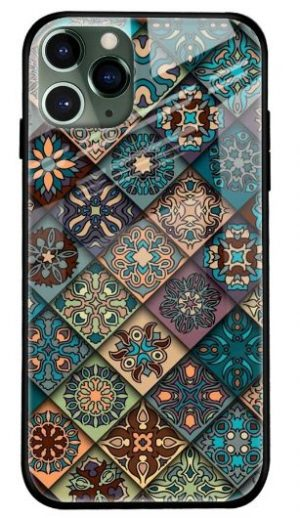 Retro Art Glass Cover for Apple iPhone 11 Pro Max: Best iPhone 11 Pro Max Cover