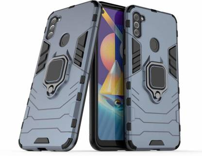 Runicha Back Cover (Blue, Shock Proof): best protective cover for samsung m11