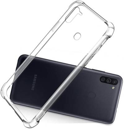 SHINESTAR. Back Cover (Transparent, Silicon): best transparent cover for samsung m11