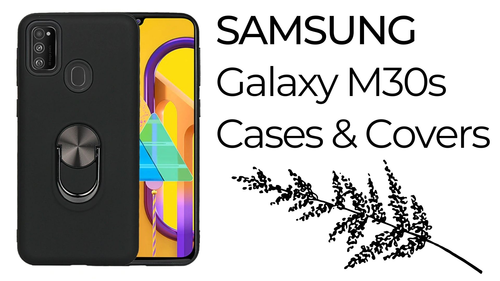 Samsung galaxy m30s cases